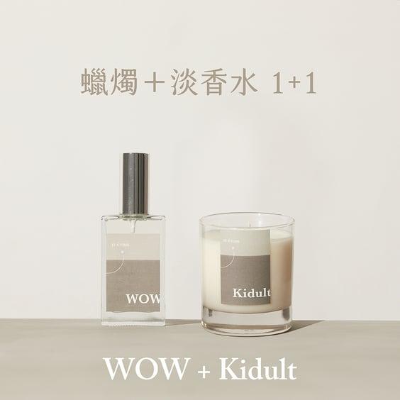 【完售倒數】IT'S TIME 來點香氛 - WOW 淡香水+蠟燭組 的圖片