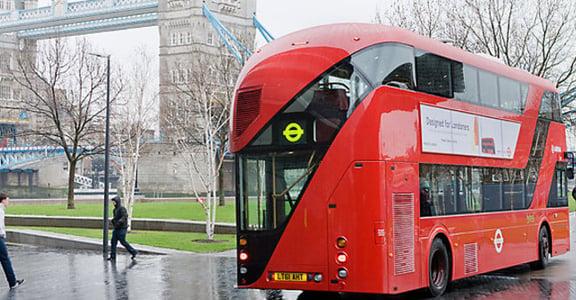 全新倫敦雙層巴士