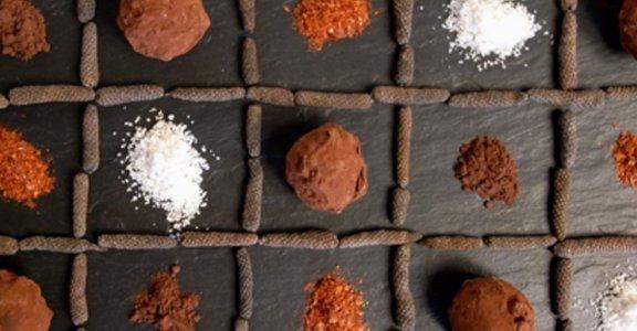 美味料理食譜:回味無窮的苦甜之愛 松露巧克力