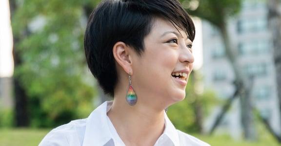 從熱線主任到立委參選!呂欣潔:當我們談論性別平權,我們談論的都是人