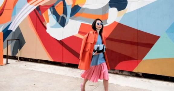 【時尚穿搭】建築師 Monling Lee:人生就要鮮明撞色