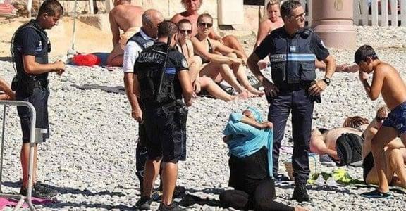 她的身體自由,你的恐攻雷達?法國禁令強脫穆斯林婦女布基尼惹議