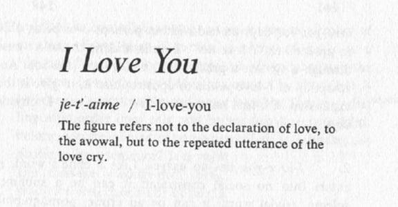【賭城單身女子週記】「我愛你」的破譯過程