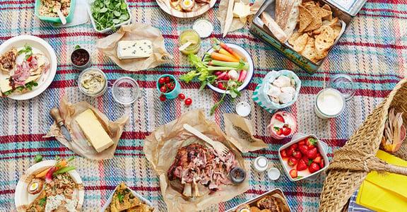 輕食、朋友、美好午後!第一次野餐就上手的幸福提案