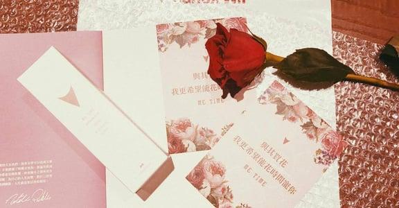 【ME TIME 情人節限定開箱】與其買花,我更希望花時間寵你
