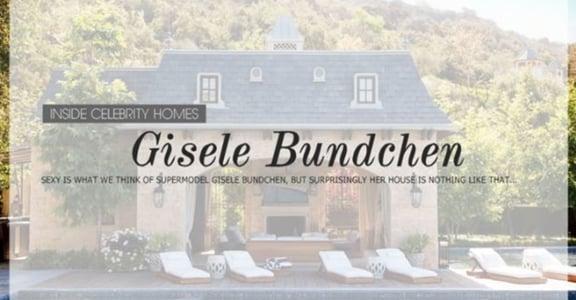 【一個家一個味】拜訪超模吉賽兒:環保豪宅的新時尚
