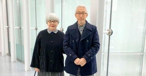 敬我們相愛的 37 年!日本銀髮夫婦的時尚穿搭