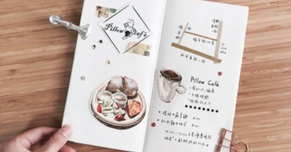 獨處時光!三間不限時特色咖啡廳:Pillow café、木白甜點、嬉々café