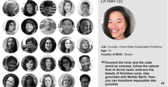 【世界日誌】改變世界的小事!台灣女孩設計布衛生棉入選全球百大女性!