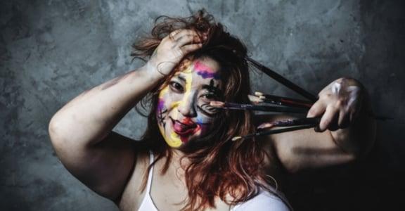 【胖女體解放攝影集】巫止祇:我不是標本,我是一個活生生的人