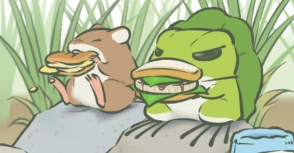 集體曬「蛙」!為何《旅人青蛙》能給我們前所未有的幸福感?