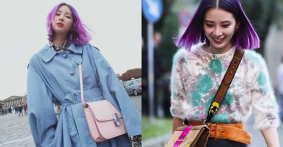 紫羅蘭、金屬銀!今年春夏,你可以大膽嘗試的五個流行髮色