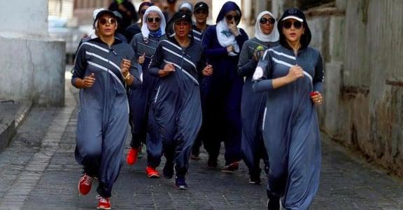沙烏地女性包緊緊如何運動?原來她們穿這樣!