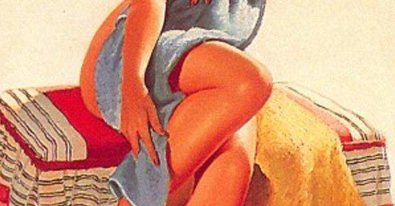 Pin-up girl,美麗懷舊的畫報女郎