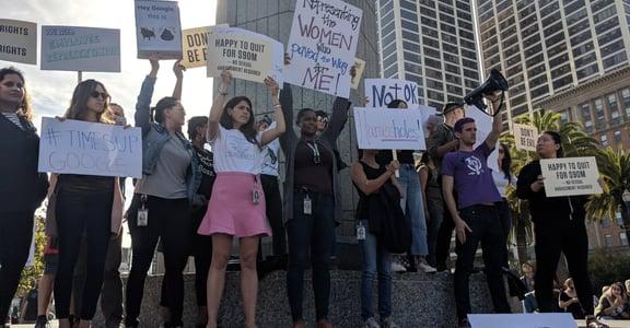 D&I 策略間 「我不在位置上,就在抗議性騷擾路上」Google 日本到加州發動罷工