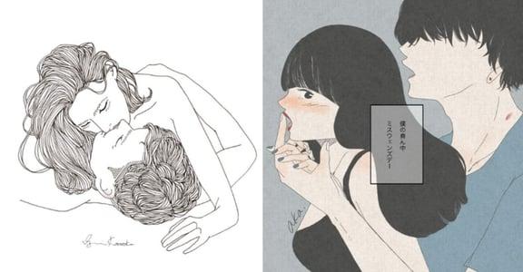 女孩的深夜限定!日本情慾插畫家的 18+ 插畫集