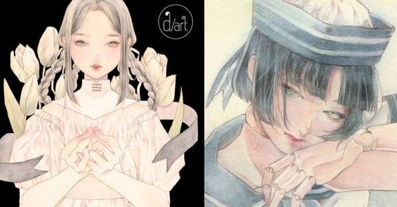 日本插畫家佐田鳩子台灣個展《浮漾》:如夢似幻的透明水彩