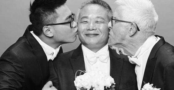 臺灣少年與英國爺爺的跨年齡愛戀:讓愛在陽光下綻放吧!