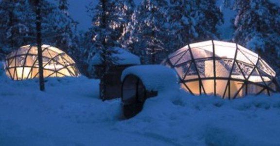 世界上最美的極光飯店