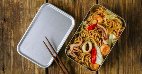 你會想念的台南味:來一份炒意麵便當吧!