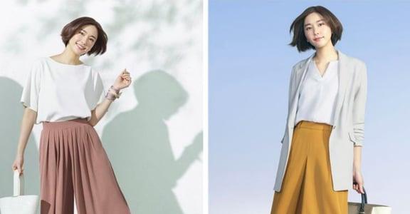 新人職場穿搭:一件寬褲加淺色外套,穿出 smart casual