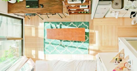房間只要三種顏色!5 坪租屋也能很寬敞