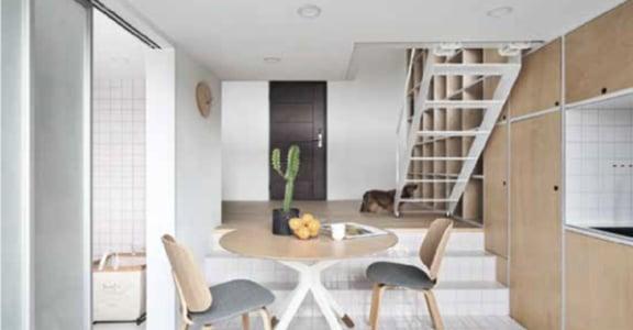10 坪小空間,也能有好生活!善用牆面的收納法