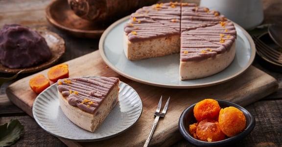 吃膩月餅了嗎?「紫芋金沙乳酪蛋糕」顛覆你對中秋禮盒的想像!