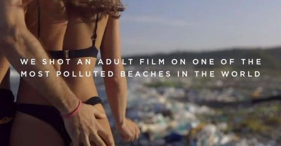 A 片顧環保?網紅夫妻海邊拍色情片,收入都捐公益團體