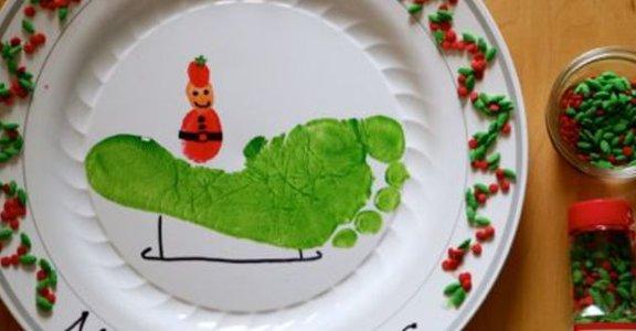 與孩子的手作時光,趣味聖誕人物勞作與花圈餅乾