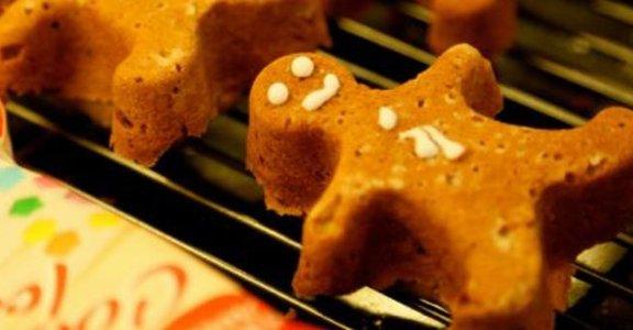 與孩子的手作時光,可愛薑餅人