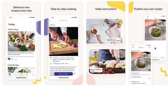 在家吃飯好嗎?五大料理 App 開始自煮生活