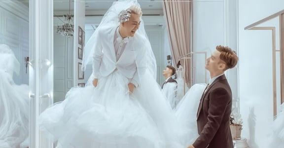 Tyla 泰辣與老公的婚紗照:如果我知道我愛你,何必證明給誰看