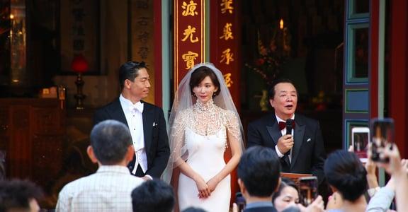 「媽媽,妳是我的心臟」林志玲婚禮上感人家書:謝謝你們,讓我相信自己有成家的力量