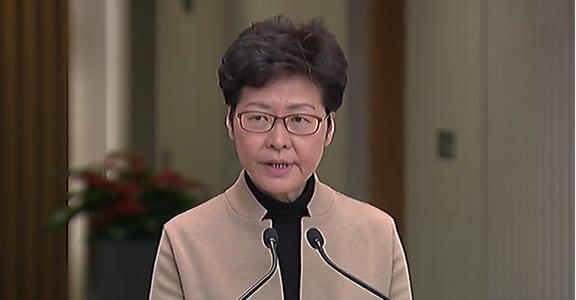 香港理大遭圍困 林鄭:「好擔心」,不到現場因不想「增熱度」