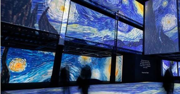 走入濃郁又狂野的世界,《再見梵谷——光影體驗展》即將登台