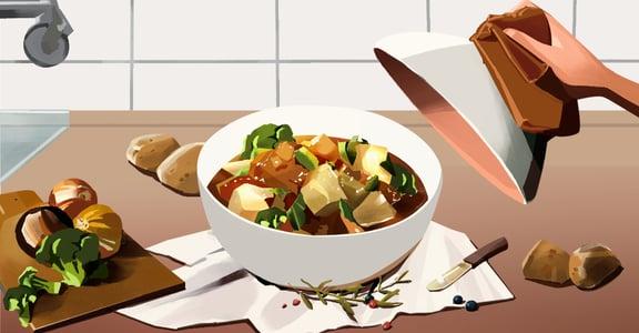 【吃與愛】馬鈴薯燉菜:與你分手後,我不敢再經過與你共食的餐廳