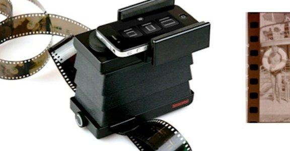 讓老底片起死回生!Lomography 即將推出「智慧型手機底片掃描器」