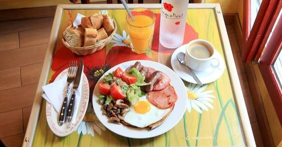 「跟著巴黎人一起睡到中午吧」平價美味法式早午餐盤點