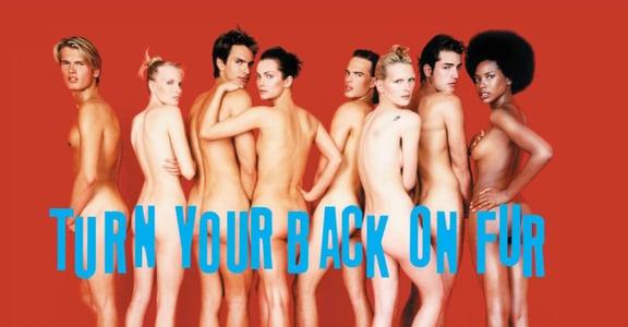 「寧願裸體,也不穿皮草」PETA 30 年抗議廣告,為何宣告停止?