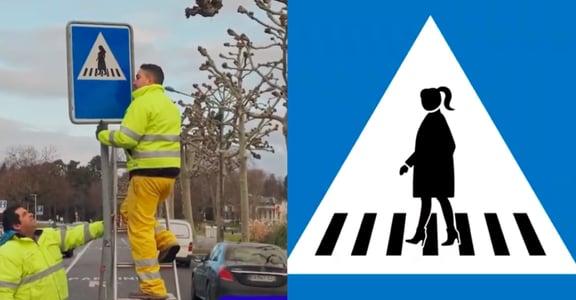 交通號誌不該只有男性代表!瑞士推孕婦、老人標誌,促進性別平等