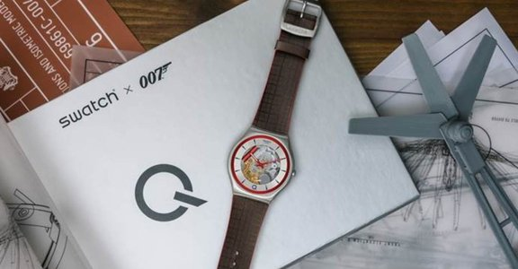 Swatch推出 007 系列電影《 007 生死交戰》限量版腕錶