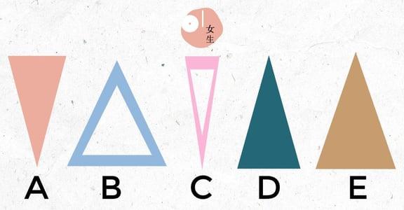 心理測驗:從五款三角形,看出你是個自我保護意識多強的人
