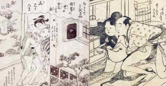 古代情慾春畫:在性愛的世界裡,一萬種人有一萬種樣子