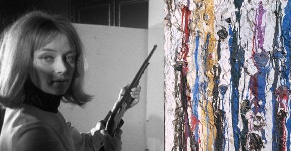 法國藝術家 Niki:我用槍擊作畫,實際上是在槍擊自己與社會