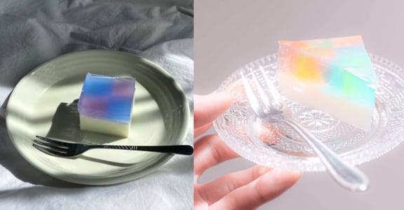 居家療癒食譜|嘴饞好想動?自製低熱量彩虹水晶凍蛋糕