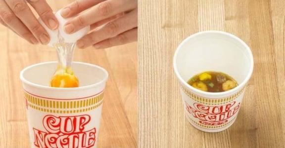 居家療癒食譜|日本瘋傳「泡麵蒸蛋」,這款台灣泡麵做出來最美味