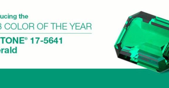 Pantone公布充滿希望的2013年度色彩:翡翠綠
