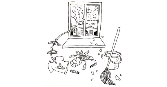 許菁芳專文|風雨天教我的事:接納混亂,學習待事柔軟