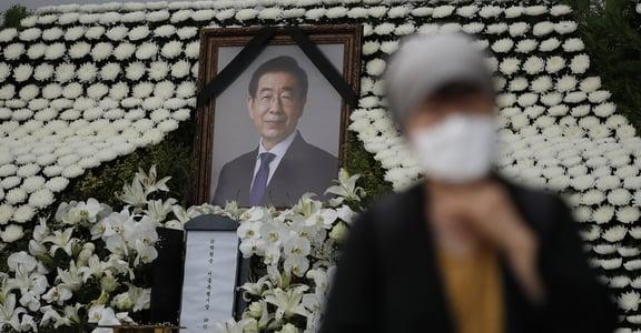 「他要我到市長休息室,躺上床給他抱」首爾市長遭前秘書指控性騷擾長達四年